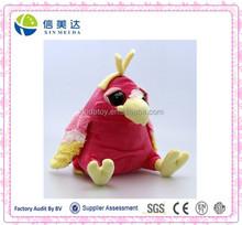 New design plush toys talking parrot