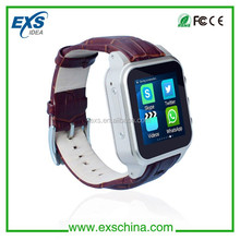 smart android 4.4 watch phone bluetooth support OEM brand logo