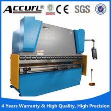 Good quality E21 system 240V wc67k 250t/3200 hydraulic steel plate folding machine , sheet aluminum brake press