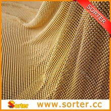 Fashion Metal Knitted Sequin Fabric For Party Decoration