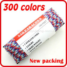 different types of high quality 550 paracord wholesale