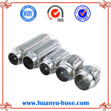 double layers flexible pipe for exhaust system
