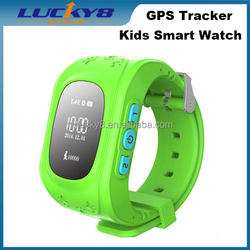 Factory price SOS GPS RFID LBS MTK6260 Bluetooth anti lost electronic fence kids tracker family calls kids wristband smart watch