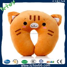 cute animal design u shape body pillow