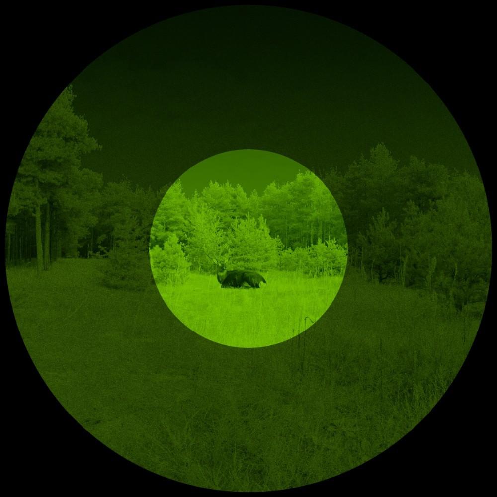 Original Yukon 24102 Exelon infrared night vision Scope 4×50 night vision monocular for hunting, fishing, hiking NV scope