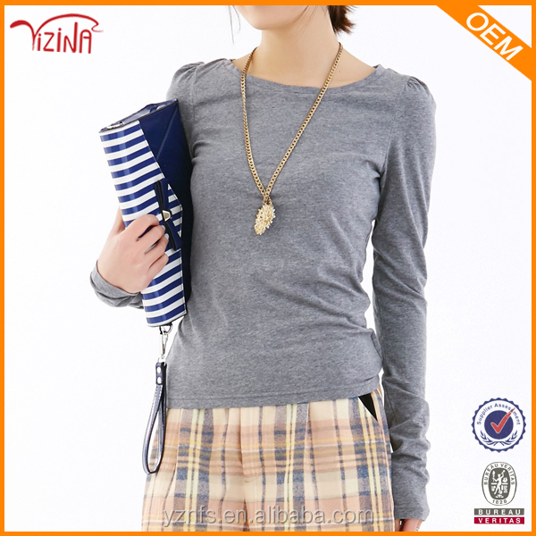 Wholesale Tagless T Shirts Fitted Dri Fit Long Sleeve