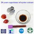 Natural Oyster extracto y Oyster concentrado de jugo o líquido de China