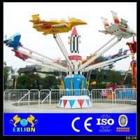 Amusement ride self control plane suitable for fairground
