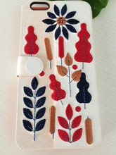 Multi color emroider cover hot sell mobile cover highly quality cover for mobile phone 6 plus