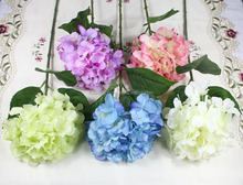 Hot selling artificial hydrangea wedding /home / showroon decorative flower