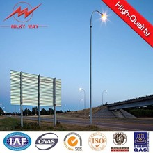 Single or double street light pole arms export to Canada
