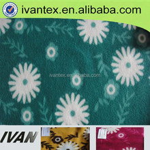 manufacture wholesale quality christmas print fleece fabric