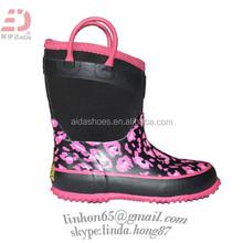 Premium Neoprene Boots Black
