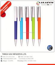 Ballpoint Pen wholesale metal body Ballpoint Pens flat Ballpoint Pen