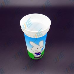 Design new coming 15oz disposable colored plastic cup