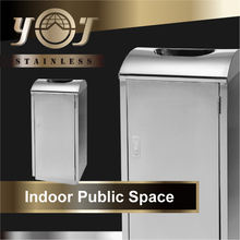 New Products Steel School Hotel Hospital Novelty Trash Containers