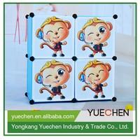 2015 China wholesale waterproof assemble folding wooden wardrobe