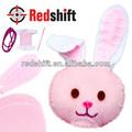 Arte y artesanía kit de costura de costura del monedero del monedero del conejo