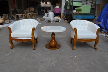 2015 new design bedroom guest room coffee table and chairs sets XYN931