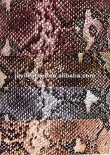 2012 Snakeskin leather