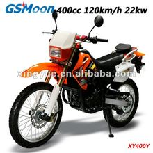 Powerful 400cc EEC cross-motorcycle