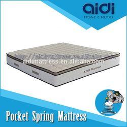 Fashion Cooling Gel Memory Foam Pocket Spring Sleep Mattress For KID Play