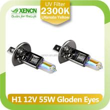 H1 2300K 12V 55W Golden Eyes Super Yellow auto Lamp