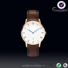High quality Ocean bin watch manufacturer with leather watch straps 20mm