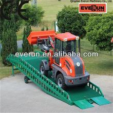Everun ER12 Multifunctional mini Front End Loader,articulated mini wheel loader,Radlader
