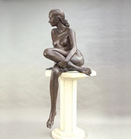 abstract figurative nude woman statues