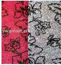 2012 fashion glitter PVC leather for wallet S9217