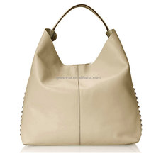 2015 women casual Europe style PU leather original designer no name plain celebrity handbags FA021