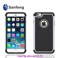 Soft 5.5 inch gel case for iPhone 6 plus phonve cover