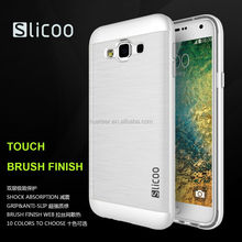From professional factory mobile phone accessory,silicone slim case cover for samsung galaxy e5