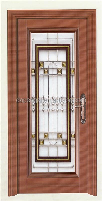 Door aluminium aluminium profiles for gate double entry for Storm doors for double entry doors