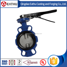 cast iron wafer type butterfly valve handles