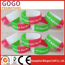 From china manufacture cheap colorful sport silicone hand band, Custom 1 inch 25mm silicone wristband
