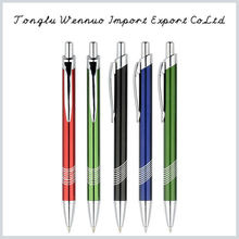 Factory price promotional fashionable colorful 4-color metal pen