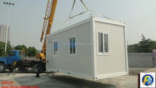 Pre-made Container House with Wheels