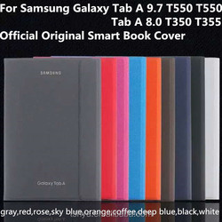Magnetic Smart Book Cover Foldable Stand Flip PU Leather For Samsung Galaxy Tab A 9.7 T550 8.0 T350 Tablet PC Case