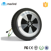 350w DIY Unicycle Scooter Motor Self Balancing Wheel 6.5 Inch 1pc