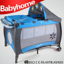 baby playpen & travel cot & play yard with toy bar