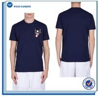 Cheap Dog Vibrant Printed T-shirt in Summer Fashion Custom Full-Size Print T-shirt for Men 2015