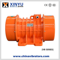 Chinese best selling 3 phase electric vibro motor widely applied on industrial vibrating sieve