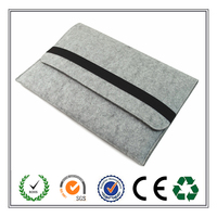 Bulk Wholesale Concise High Quality Felt Laptop Sleeve From China Factory