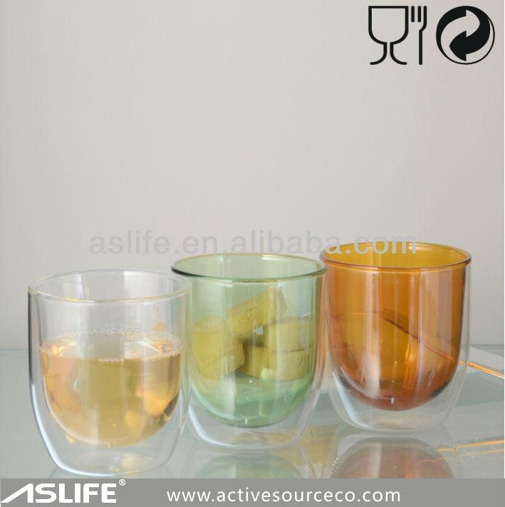 ( asd2312) 250ml/8.5oz más nuevo diseño! De color de doble pared del vaso tervis
