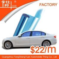 Nice!Hot sale wholesale bule crystal solar car film