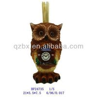 polyresin souvenir gift cukoo clock toothpick box crafts