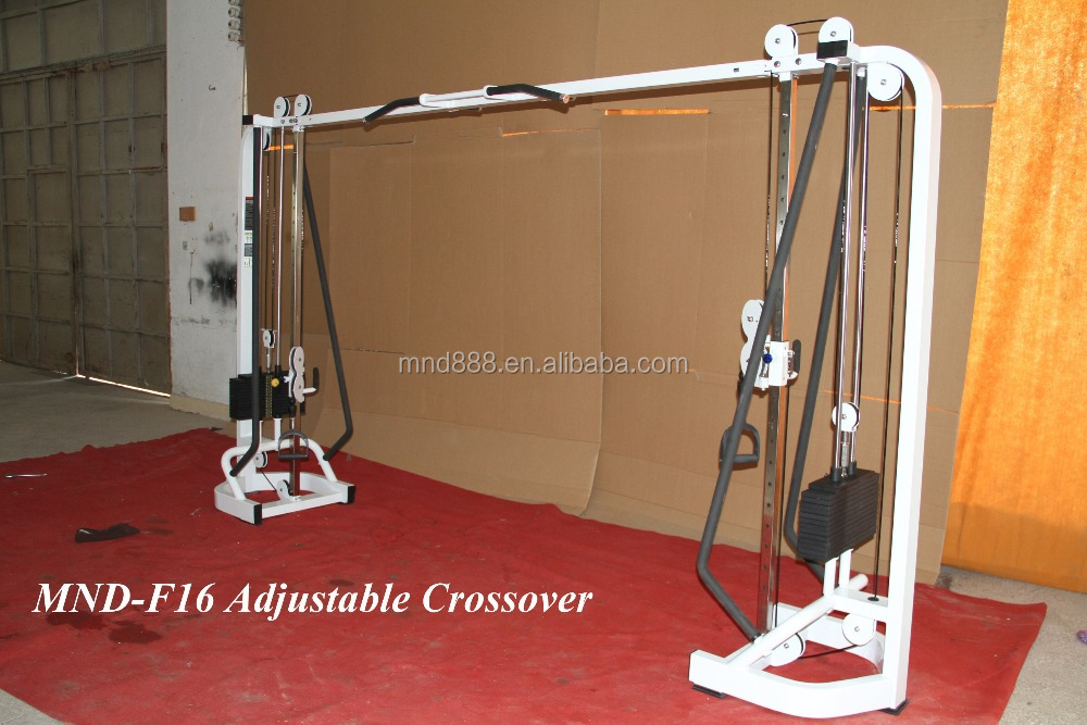 Adjustable Crossover commercial gym equipment/training equipment /fitness machines
