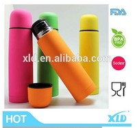 fashionable stainless bullet vacuum flask with colorful painting
